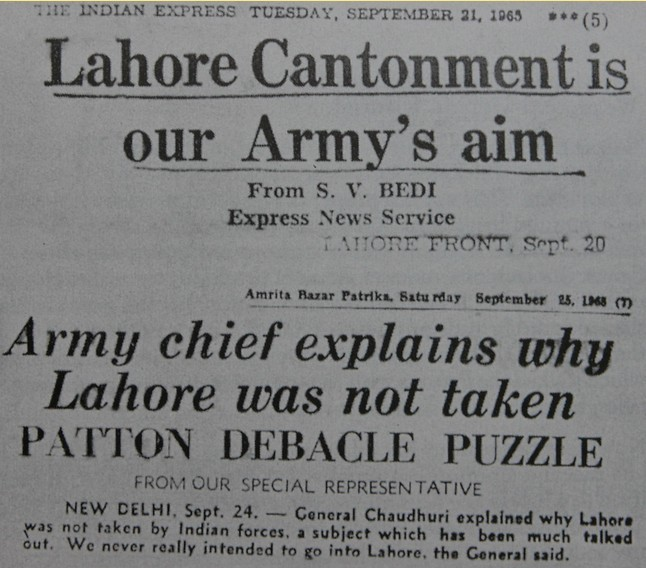 The 1965 War. A Summary by Major Amin