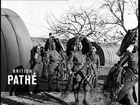 Film: Royal Indian Army Service Corps in World War 2