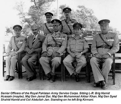 General Mohammed Akbar Khan (and some others)
